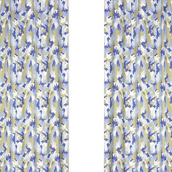 Sweet Jojo Designs - Camo Blue Window Panels (Set of 2) - The Blue Camo Window Curtain Panel Set will help complete the look of your Sweet Jojo Designs room. These window treatments instantly change the look and feel of any room, adding layers of warmth and style. Each panel measures 42in. X 84in.
