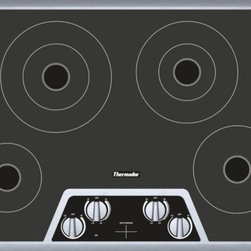 Thermador - CEM304NS 30 inch Masterpiece® Series Electric Cooktop CEM304NS - Excellent performance, precise control, and a sleek design that fits into any kitchen. With its 5 responsive elements, you can take your cooking to levels you never imagined.