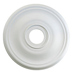 "Quorum International - Quorum 7-2818-8 18"" Ceiling Medallion -Sw - Quorum 7-2818-8 18"" Ceiling Medallion -Sw"