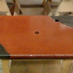 Concrete Vanity Top -