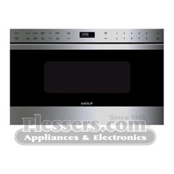 "Wolf MD24TES 24"" Transitional E Series Drawer Microwave Oven - Please Note: This is a new product please call to check the availability date."
