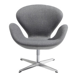 Swan Chair Available at SUITENY.COM - Available at SUITENY.COM
