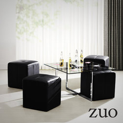 Zuo Modern Botero Coffee Table Set - Zuo Modern Botero Coffee Table Set