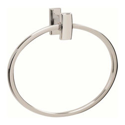 Alno Inc. - Alno Creations 7 Inch Towel Ring Polished Chrome A7540-Pc - Alno Creations 7 Inch Towel Ring Polished Chrome A7540-Pc