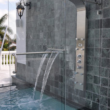 Contemporary Showers by Priele Bathrooms KraftMaid Kitchens