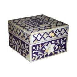 Indian Jewelry Box - Sheherazade NYC Store -