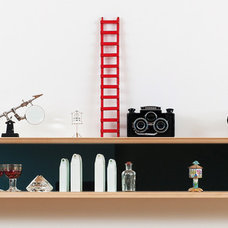 Contemporary Wall Shelves by Mark Collett Design and Build