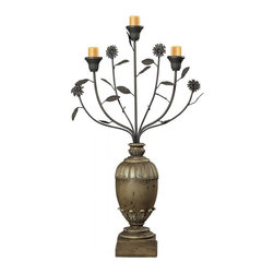 Joshua Marshal - Floral Display Style Candle Holder - Floral Display Style Candle Holder