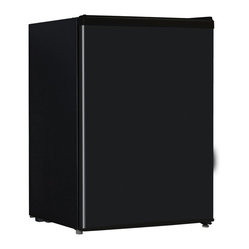 2.6 Cubic-Foot Refrigerator Black