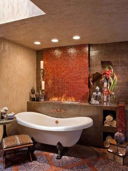 Asian Bathroom by 322 Lytton