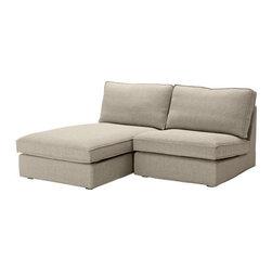Ola Wihlborg - KIVIK One-seat section with chaise - One-seat section with chaise, Tenö light gray