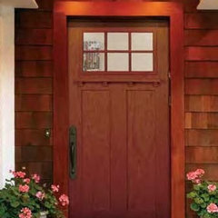modern entry by US Door & More Inc