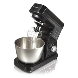 Hamilton Beach - Hamilton Beach 6-speed Stand Mixer - Mixing pancakes and fixing up some mashed potatoes has never been easier than it is with this handy Hamilton Beach stand mixer. The mixer features six speed settings and comes with a 3.5-quart bowl. The beater has an excellent non-stick surface.