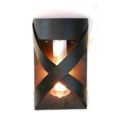 LOFT Lighting - V17B Wine Barrel Ring Wall Sconce - 100% Recycled -