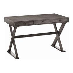 Arteriors - Arteriors 5197 Cain Desk - Arteriors 5197 Cain Desk made with Gray Limed Oak Veneer .