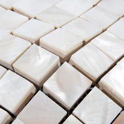 8mm Mother of pearl tiles kitchen backsplash PEM0031 - Collection: Mother of Pearl Tile