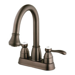 Belle Foret - Belle Foret N600 01 ORB Pull Down Spray Laundry Faucet in Oil Rubbed Bronze - Belle Foret N600 01 ORB Pull Down Spray Laundry Faucet in Oil Rubbed BronzeDistinctively elegant faucets, sinks, bath furniture, and lighting graced by the rich patina of time, without the wait or expense. Discover the Belle Foret Collection - a voyage well worth taking.True to Country French design, these distinctively elegant faucets are graced by the rich patina of time - without the wait or expense. Belle Foret faucets are available in a variety of fashionable finishes which perfectly complement any decor.Belle Foret N600 01 ORB Pull Down Spray Laundry Faucet in Oil Rubbed Bronze, Features:• Pull Down Spray Laundry Faucet