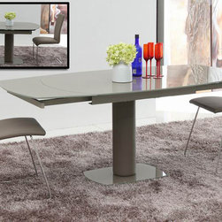 Flavor Modern Extendable Dining Table - Modern dining table