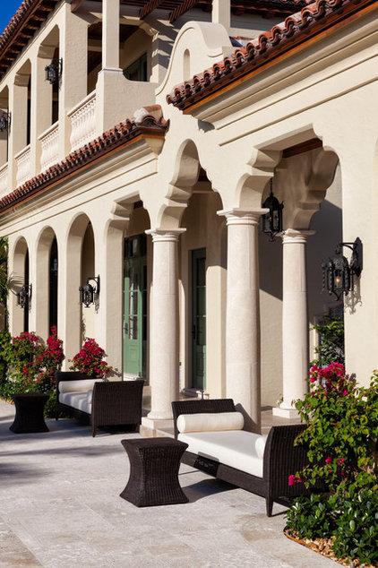 Mediterranean Exterior by Village Architects AIA, Inc.