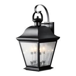 "Kichler - Kichler 9704 Mount Vernon Collection 4 Light 28"" Outdoor Wall Light - Kichler 9704 Mount Vernon Outdoor Wall Light"