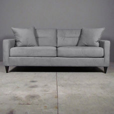 Eclectic Sofas by red: modern lines . vintage finds