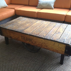 Industrial Coffee Tables by Hearthwoods Custom Furnishings