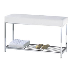 Harmony Bench with Shelf