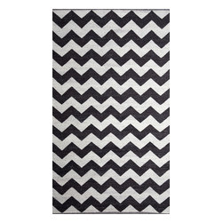 Chevron Rug - 5'x8' - *Primary materials: Wool