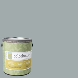 Inspired Semi-Gloss Interior Paint, Wool .03, Gallon - Colorhouse paints are zero VOC, low-odor, Green Wise Gold certified and have superior coverage and durability. Our artist-crafted colors are designed to be easy backdrops for living. Colorhouse paints are 100% acrylic with no VOCs (volatile organic compounds), no toxic fumes/HAPs-free, no reproductive toxins, and no chemical solvents.