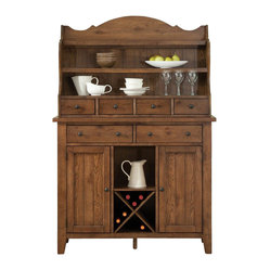 Liberty Furniture Hearthstone Server in Oak, Medium Wood