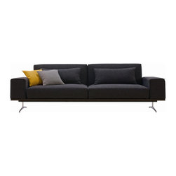 J&M Furniture - J&M Furniture Premium Sofa Bed K56 in Black - This Wide Sofa Bed will sit at least 4 comfortably. Another winner by IDO Sofa. This spacious sofa bed is sure to give you convenience and style all at once! Open it as a long sofa  lounger or a spacious bed.