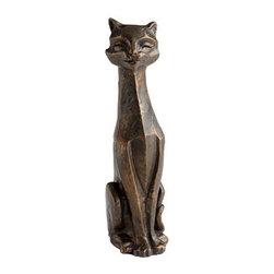 Eris Funny Cat Sculpture - Eris Funny Cat Sculpture