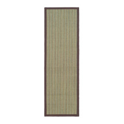 Safavieh - Safavieh Natural Fiber Casual Rug X-82-C244FN - Hand-woven with natural fibers, this casual area rug is innately soft and durable. This densely woven rug will add a warm accent and feel to any home. The natural latex backing adds durability and helps hold the rug in place.