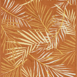 "Loloi Rugs - Loloi Rugs Catalina Collection - Orange / Multi, 3'-11"" x 5'-10"" - Made of very weather-resilient polypropylene, the Catalina Collection features indoor/outdoor rugs with bold patterns and can't-miss, vibrant colors that look amazing in indoor or outdoor spaces. Each design is power loomed in Egypt and tested withstand UV rays and sunshine."