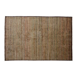 Gabbeh Peshawar Oriental Rug, 100% Wool Hand Knotted 6'x10' Striped Rug SH8317 - Our Modern & Contemporary Rug Collections are directly imported out of India & China.  The designs range from, solid, striped, geometric, modern, and abstract.  The color schemes range from very soft to very vibrant.