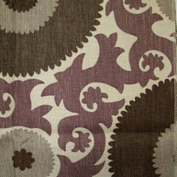 Fahri Grape Fabric