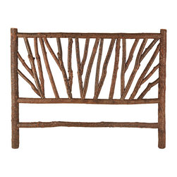 Rustic Headboard #4290 (King) by La Lune Collection - Rustic Headboard #4290 (King) by La Lune Collection