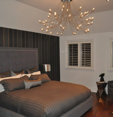 modern bedroom by Klassmore Designs