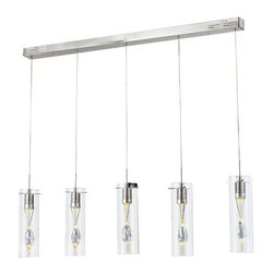 Trans Globe Lighting - Trans Globe Lighting MDN-1181 Pendant Light In Polished Chrome - Part Number: MDN-1181