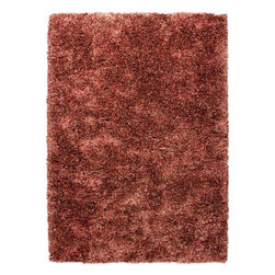 Jaipur - Shag Unison 5'x8' Rectangle Mix-Mix Area Rug - The Unison area rug Collection offers an affordable assortment of Shag stylings. Unison features a blend of natural Mix-Mix color. Handmade of 60% Polyester 40% Wool the Unison Collection is an intriguing compliment to any decor.