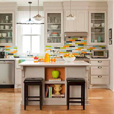 Eclectic Kitchen by Modwalls