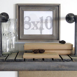 Picture Frames in Driftwood, Gray Cove Style by DA Custom Frames - Handmade frames in gray driftwood are a popular look right now.