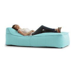 Big Joe Zip It! Chaise Bean Bag - A simple and stylish design, this Big Joe Zip It! Chaise Bean Bag looks great in any setting. Its ultimaX stuffing just lets you sink in for a relaxing sit that just won't quit. With a wide variety of colors available, you will certainly find one that will suit your interior nicely.