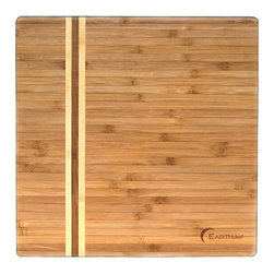 BergHOFF - BergHOFF Large Bamboo Chop Block Light Brown - 3600466 - Shop for Cutting Boards from Hayneedle.com! Featuring clean lines this high quality chopping board can be an ideal addition to any modern kitchen. The BergHOFF Large Bamboo Chop Block is designed to make working in the kitchen easier. This chopping board is also an eco-friendly alternative to traditional wooden cutting boards. It's made from vertical-grain bamboo treated with food grade mineral oil which makes it perfect for light chopping and cutting. Moreover this board is ideal for carving meats. For this bamboo item Washing by hand is recommended.