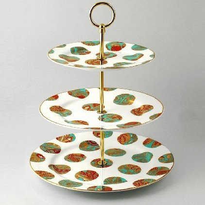 Contemporary Dessert And Cake Stands by Bouf