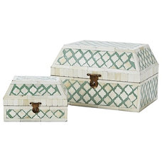 Eclectic Jewelry Boxes And Organizers by Serena & Lily