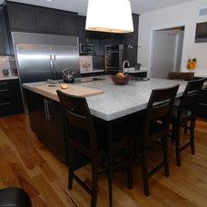 Midcentury Kitchen by North Shore Kitchen & Bath