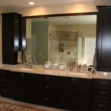 Transitional Bathroom Vanities And Sink Consoles by ECCO Woodcrafts & Cabinetry, LLC