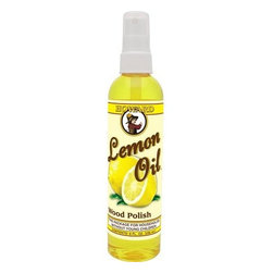 Howard Lemon Oil Wood Cleaner Polisher Spray 8oz - Enhances the depth and natural beauty of wood grain.  The power of real lemon oil. Natural lemon essence oil is derived from the rind of lemons and has excellent cleaning properties. These naturally occurring cleaners replace the need for a lot of harsh chemicals.