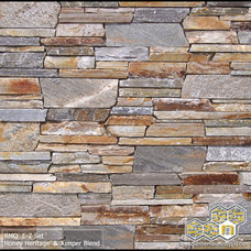 Modern Siding And Stone Veneer by Northern Stone Supply, Inc.